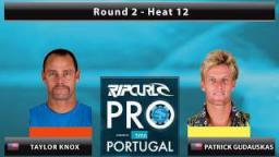 Round 2 - Heat 12: Knox vs. Gudauskas