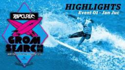Rip Curl GromSearch 2011 Highlights - Event 01 Jan Juc