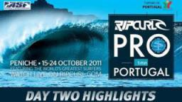 Day 2 Highlights - 2011 Rip Curl Pro Portugal