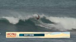 8ae51fb178 Day 3 HIghlights - 2014 HIC Pro Sunset   Surfing Video