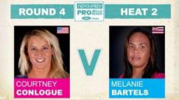 Rip Curl Pro 2011 R4, H2 - Courtney Conlogue vs Melanie Bartels