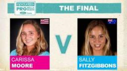 Rip Curl Pro 2011 The Final - Carissa Moore vs Sally Fitzgibbons