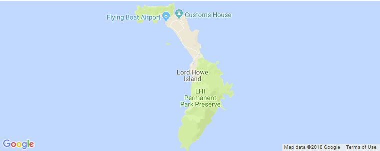 Howe Indiana Map.Lord Howe Island Surf Guide Maps Locations And Information