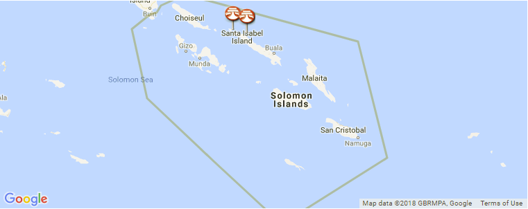 Solomon Islands Surf Guide, Maps, Locations and Information
