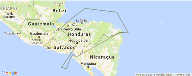 Honduras Surf Guide, Maps, Locations and Information