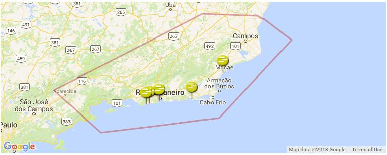 Rio de Janeiro Surf Guide, Maps, Locations and Information