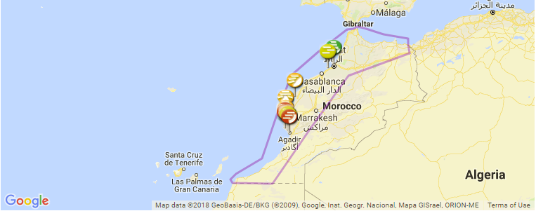 Surfing In Morocco A Surf Spot Map And Guide To The Best Waves