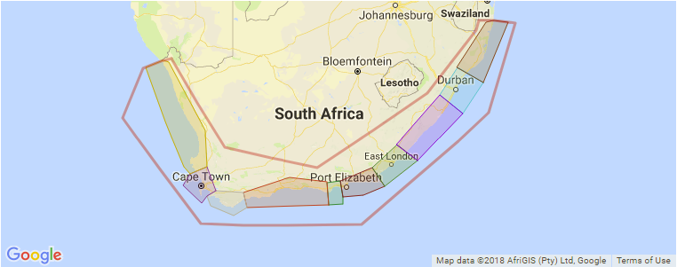 J Bay South Africa Map Surfing in South Africa: A Guide with Surf Spot Map and Photos