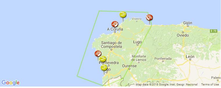 Galicia Surf Guide, Maps, Locations and Information on pale of settlement, wallachia map, asturias map, malopolska map, catalonia espana map, rheinhessen map, galician map, picos de europa map, castilla la vieja map, la rioja map, ukraine map, carpathian mountains map, andalucia map, east prussia map, santiago de compostela map, poland election map, karachay-cherkessia map, taras shevchenko, bohemia map, duchy of warsaw, carpathian ruthenia, kingdom of galicia and lodomeria, carpathian mountains, second polish republic, spain map, norte map, catalonia france map,