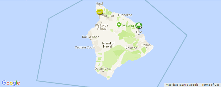 Big Island Hawaii Surf Guide Maps Locations And Information