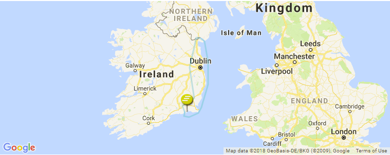 Map Of Ireland East Coast.East Coast Surf Guide Maps Locations And Information