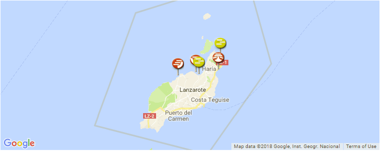 Map Of Spain Lanzarote.Surfing Lanzarote A Guide To The Island And It S Best Surf Spots