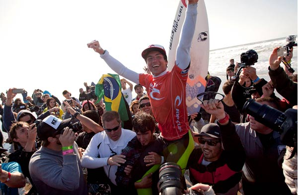 Gabriel Medina Wins the Rip Curl Pro Search San Francisco