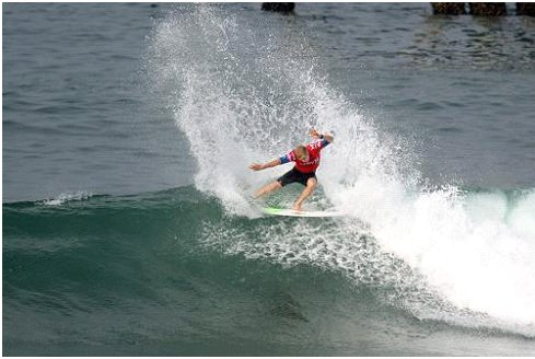 Action from the Hurley US Open Huntington Beach