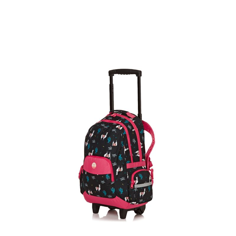 f8858a1453fc Get Quotations · Women Backpack Trolley School bag For Girl Tie Rod Trolley  Luggage Bag Children SchoolBags For Girls