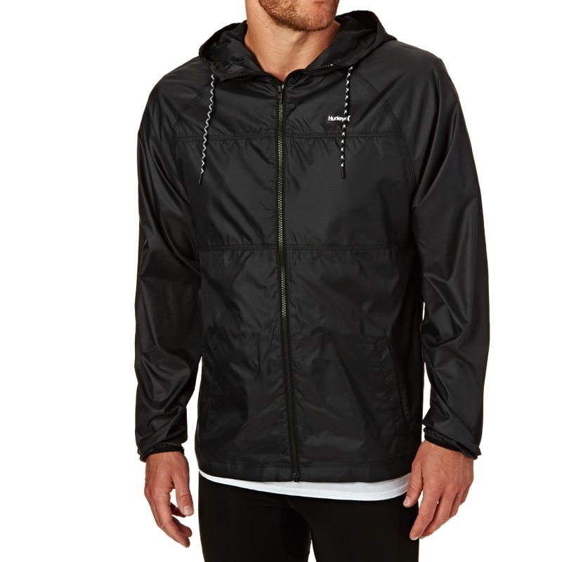 coupon code online retailer details for Hurley Protect Solid Jacket - Black