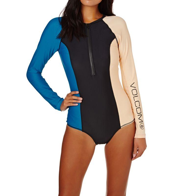 1d89e73ead Volcom Simply Solid Bodysuit Swimsuit - Ocean