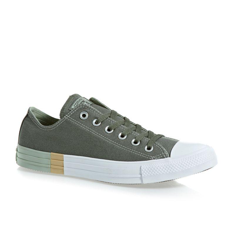 7d21f3a0d02f Converse Chuck Taylor All Star Ox Shoes - River Rock surplus Sage white