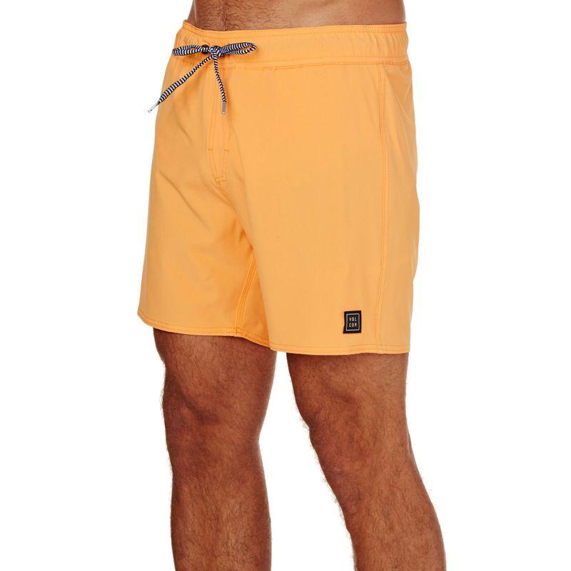 Volcom Case Stoney 16 Board Shorts - Summer Orange - Surfing Waves