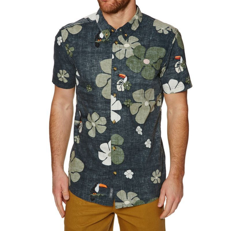 6ac79216c Rip Curl Tropicool Short Sleeve Shirt - Black