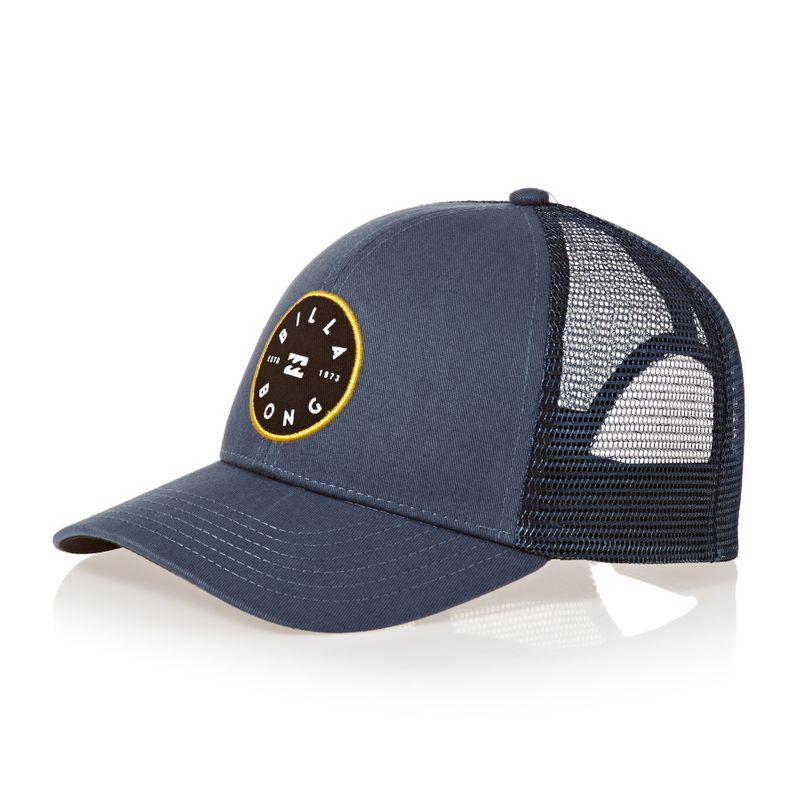68b97b0f1cff1c Billabong Walled Trucker Cap - Navy