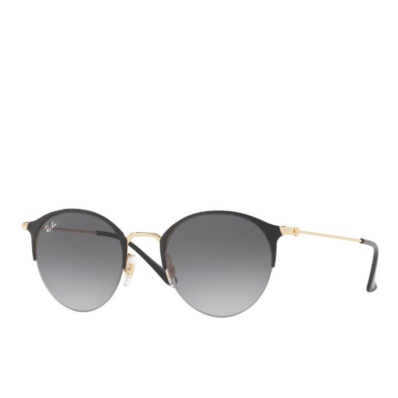 790ea55195e5b Ray Ban Rb3578 Sunglasses - Gold Top Shiny Black light Grey gradient Dark  Grey