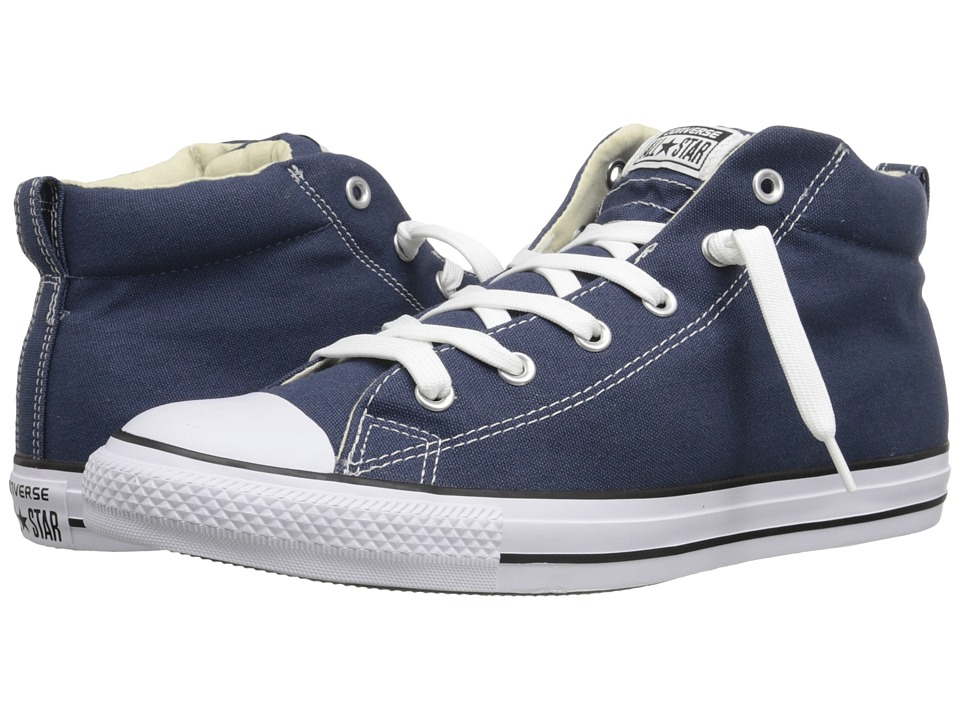 5ae33e739a82 Converse Chuck Taylor All Star Street Core Canvas Mid (navy natural white)