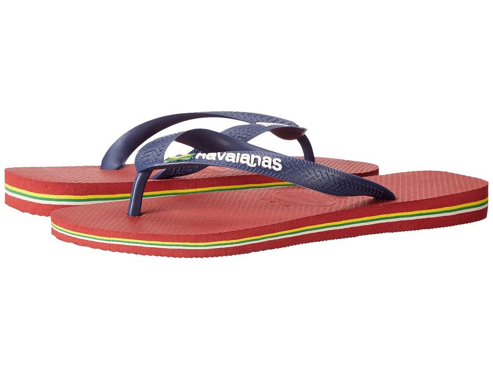 44fceef94 Havaianas Brazil Logo Flip Flops (red)